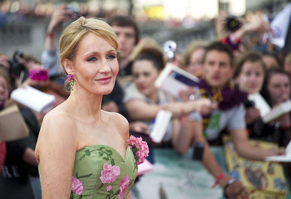 J.K. Rowling looking kind of hot.